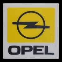 Opel Leuchtreklame 60er-70er Jahre