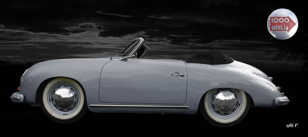 Porsche 356 A 1500 Super (Originalfarbe) side view