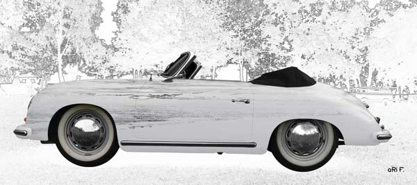 Porsche 356 A 1500 Super in graphit