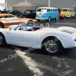 Porsche 550 Spyder Replica on a Classic Car Meeting
