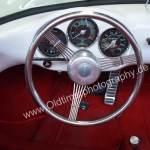 Porsche 550 Spyder - drei Rundinstrumente müssen reichen