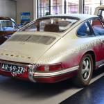Porsche 912 mit goldfarbenen Porsche 912 Schriftzügen
