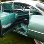 1959 Cadillac Serie 62 hintere Seitentür geöffnet