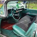 1959 Cadillac Serie 62 Interieur alles in Wagenfarbe bis hin zu den Sitzen