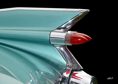 1959 Cadillac Serie 62 Fins Poster