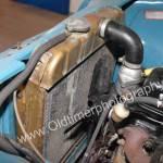 Opel Olympia Rekord Caravan Motorraum mit Blick Kühler