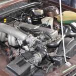 Opel Monza 3.0 E Motorraum