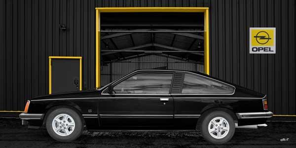 Opel Monza 3.0 in schwarz