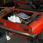 Alfa Romeo Spider Kofferraum