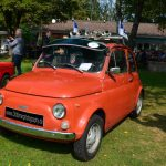 Fiat 500 in rot
