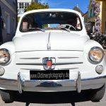 Fiat 500 in weiß