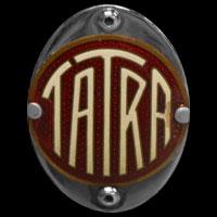 Logo Tatra 87 auf Stoßfänger hinten
