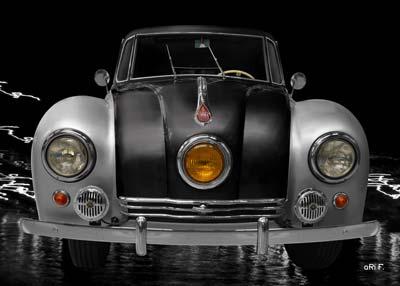 Tatra 87 in black & silver (Originalfarbe)