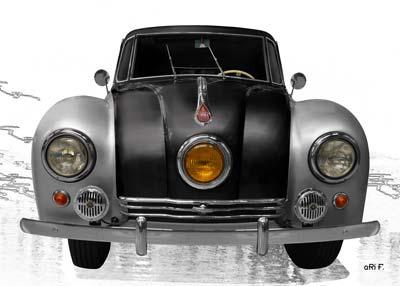 Tatra 87 in Originalfarbe