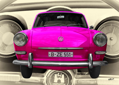 VW 1500 Typ 3 in pink