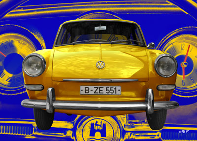 VW 1500 Typ 3 in yellow
