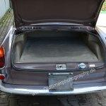 VW 1500 mit abdecktem Motor im Heck und immer noch ein wenig Platz für 1-2 sehr flache Koffer