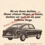 VW 1600 TL Werbung - Volkswagen Werbung von 1966