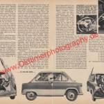 Zündapp Janus Bericht mit Daten - Zündapp Werbung von 1958 Seite 38-39