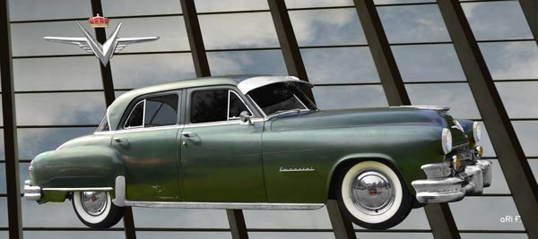 1952 Chrysler Imperial in green