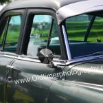 Chrysler Imperial Seitendetailansicht mit von innen beweglicher Sonnenblende