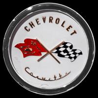 Logo Chevrolet Corvette C1 1953–1956