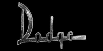 Logo Dodge auf Phoenix von 1960