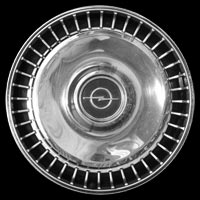 Logo Opel Diplomat A auf Radkappe
