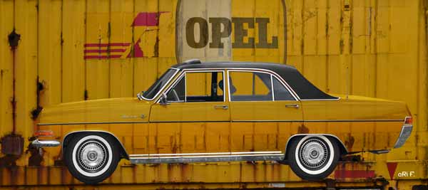 Opel Diplomat A published on Container V2_5138-02