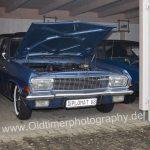 Opel Diplomat A V8 mit geöffneter Motorhaube