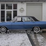 Opel Diplomat A V8 Seitenansicht beim Car shooting