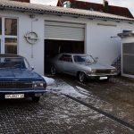 Opel Diplomat A V8 und Opel Diplomat A Coupé beim Car shooting