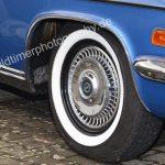 Opel Diplomat A mit verchromten Radläufen vorne und hinten
