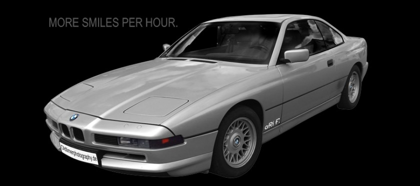 BMW 850i Typ E31 new created by aRi F.