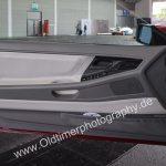 BMW 850i Detailansicht auf rahmenlose Beifahrertüre