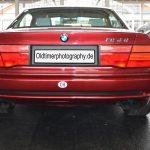 BMW 850i Heckansicht