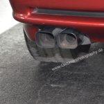 BMW 850i mit Doppelauspuffanlge auf beiden Seiten für den 12-Zylinder-Motor