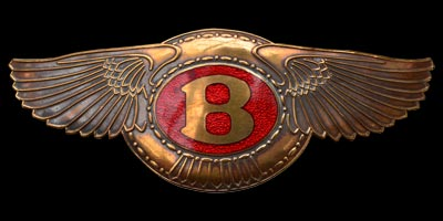 Logo Bentley boat tail