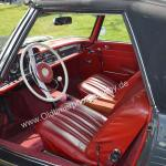 Mercedes Benz W 113 SL Interieur