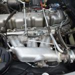 Mercedes Benz W 113 SL Motorraum