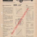 BMW 502 2,6 Liter Test in Motor-Rundschau Ausgabe 1/1959 Seite 5