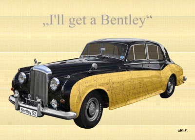 Bentley S2 Poster in special colors