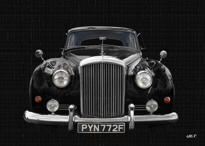 Bentley S2 in black & black