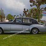 Bentley S2 im klassischen Duotone-Farben schwarz-silbermetallic
