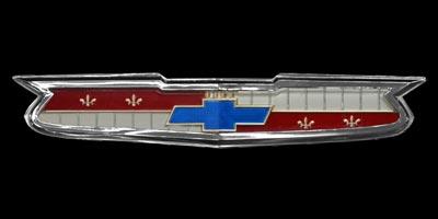 Logo Chevrolet Bel Air auf Kühlergrill