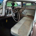 Chevrolet Bel Air 1957 mit durchgehender Sitzbank vorne