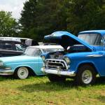 Edsel Corsair und Chevrolet 3600 Pick-up