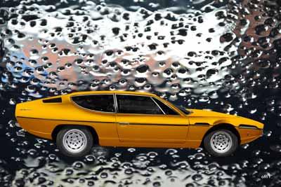 Poster Lamborghini Espada water proofed by aRi F.