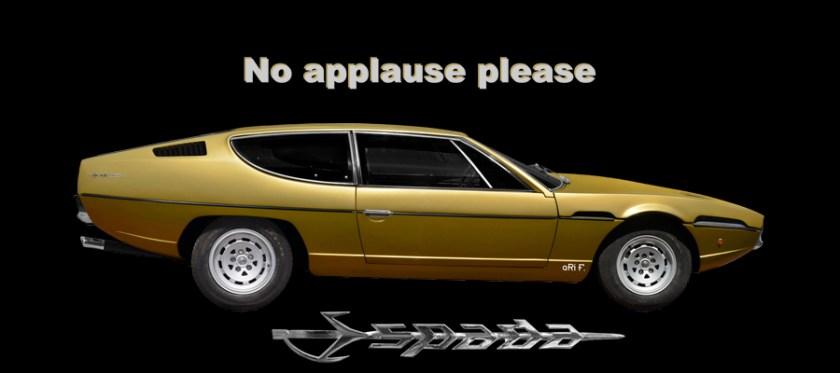 Lamborghini Espada for sale Poster