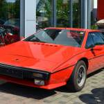 Lotus Esprit in red